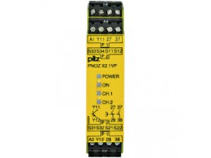 PNOZ X2.1VP 0.75/24VDC 1so 2n/o fix