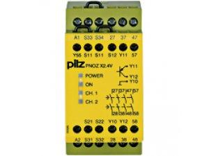 PNOZ X2.4V 1/24VDC 4n/o 1so fix