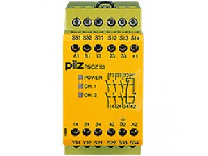 PNOZ X3 115VAC 24VDC 3n/o 1n/c 1so