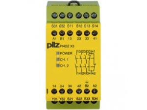 PNOZ X3 24VAC 24VDC 3n/o 1n/c 1so