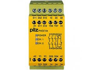 PNOZ X4 230VAC 3n/o 1n/c