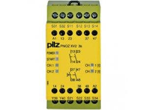 PNOZ XV2 3/24VDC 2n/o 2n/o fix