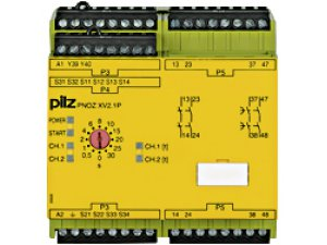 PNOZ XV2.1P 3/24-240VACDC 2n/o 2n/o t
