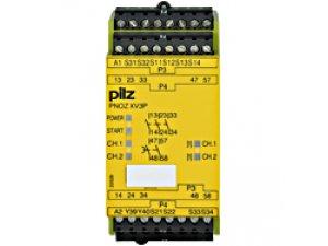 PNOZ XV3P 0.5/24VDC 3n/o 2n/o t fix