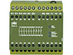 PNOZ 10 230-240VAC 6n/o 4n/c