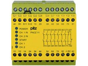 PNOZ 11 110-120VAC 24VDC 7n/o 1n/c