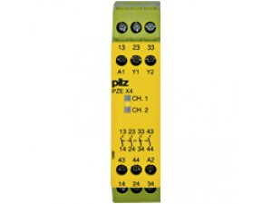 PZE X4 24VDC 4n/o