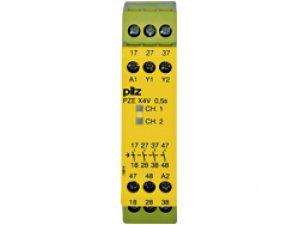 PZE X4V 0,5/24VDC 4n/o fix