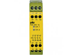 PZE X4V 1/24VDC 4n/o fix