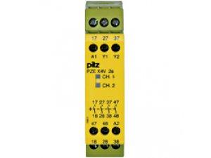 PZE X4V 2/24VDC 4n/o fix