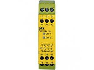 PZE X4V 3/24VDC 4n/o fix