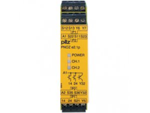 PNOZ e2.1p 24VDC 2so