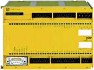 PILZ 773120 PNOZ m2p base unit press function