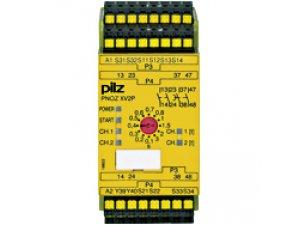 PNOZ XV2P C 3/24VDC 2n/o 2n/o t