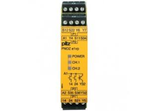 PNOZ e1p C 24VDC 2so