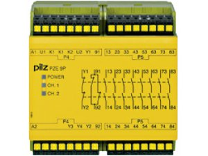 PZE 9P C 24VACDC 24-240VACDC 8n/o 1n/c