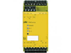 PNOZ e6.1p 24VDC 4n/o 2so