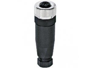 PILZ 380309 PSS67 M12 connector straight,female,5pol