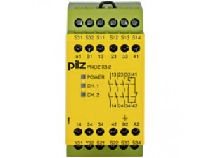 PNOZ X3.2 230VAC 24VDC 3n/o 1n/c 1so