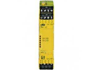 PILZ 750132 PNOZ s22 24VDC 2 x 3 n/o 1 n/c