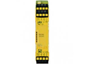 PNOZ s22 C 24VDC 2 x 3 n/o 1 n/c