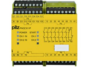 PNOZ X11P 110-120VAC 24VDC 7n/o 1n/c 2so