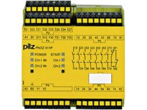 PNOZ X11P C 110-120VAC 7n/o 1n/c 2so
