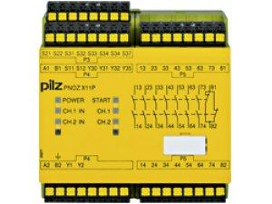 PNOZ X11P C 230-240VAC 7n/o 1n/c 2so