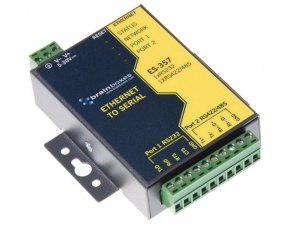 Brainboxes ES-357 Ethernet 1 Port RS232 + 1 Port RS422/485