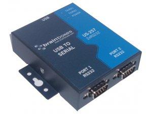 Brainboxes US-257 USB 2 Port RS232 1MBaud