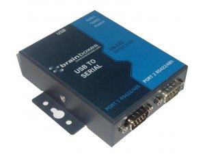 Brainboxes US-313 USB 2 Port RS422/485 1MBaud
