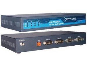 Brainboxes US-346 USB 4 Port RS422/485 1MBaud