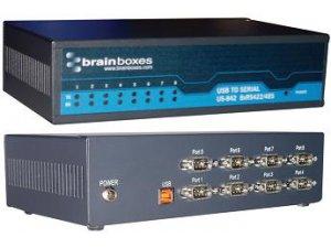 Brainboxes US-842 USB 8 Port RS422/485 1MBaud
