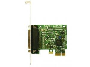 Brainboxes PX-146 PCIe 1xLPT Printer Port