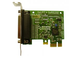 Brainboxes PX-157 LP PCIe 1xLPT Printer Port
