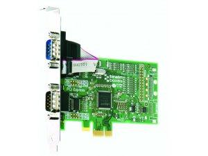 Brainboxes PX-257 PCIe 2xRS232 1MBaud