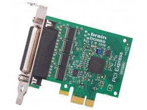 Brainboxes PX-260 LP PCIe 4xRS232 1MBaud