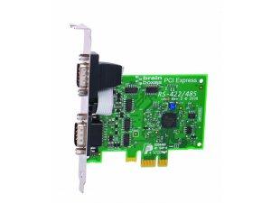 Brainboxes PX-313 PCIe 2xRS422/485 1MBaud