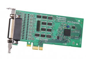 Brainboxes PX-335 LP PCIe 4xRS422/485 1MBaud