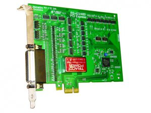 Brainboxes PX-368 PCIe 4xRS422/485 1MBaud Opto Isolated