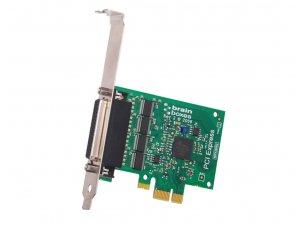 Brainboxes PX-701 PCIe 4xRS232 1MBaud