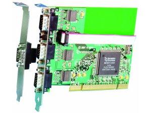 Brainboxes UC-414 uPCI 3+1xRS232+LPT Printer Port