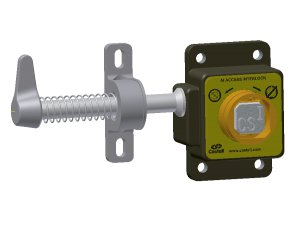 Castell AI-FSS-2 vstupní zámek pro 1 klíč pravý
