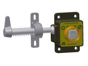 Castell AI-QAL-2 vstupní zámek pro 1 klíč pravý