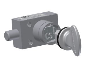Castell KSP-QB-0-1 zámek s pružinou