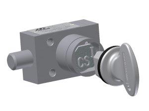 Castell KSP-QB-0-3 zámek s pružinou