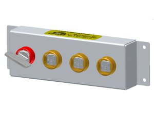 Castell X-FSS-H-1/2 výměnné skříňky