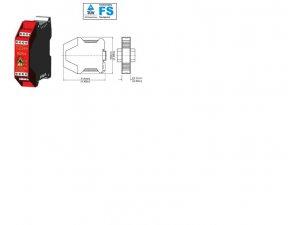 Idem Safety  180003 SCR-3 230V -  std screw terminals
