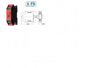 Idem Safety  180005 SCR-4-TD1 24V - std screw terminals