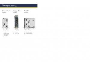 Bihl+Wiedemann BWU2313 AS-i Analogmodul, 2 Eingänge Pt100 + 4 digitale